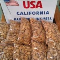 Jual Jual Almond Roasted ( Panggang ) USA - California 250gram murah Murah