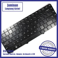 Keyboard Laptop HP Compaq Presario CQ42, G42 hitam Series ORI