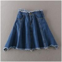 celana pendek wanita jeans tebal vintage import korea hot pants grosir