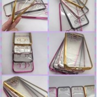 TPU Shining Chrome Jelly Case Silicon Lenovo A1000 / Vibe A / A1000M