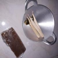 1 Wajan / Pan kecil + 3 canting + 200 gr Malam. alat batik Murah