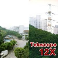 Universal Tele Zoom telezoom Lensa 12X kamera untuk hp bagus murah new