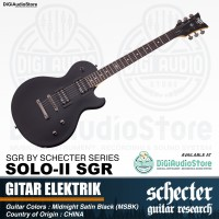 Gitar Listrik Elektrik Solo-II SGR by Schecter Guitar Electric MSBK