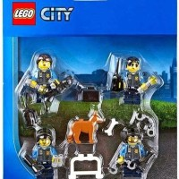 LEGO City Police Officers amp Dog Minifigure Accessory Pack 850617