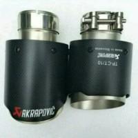 KEPALA KNALPOT AKRAPOVIC 2,5 / Tail Pipe Akrapovic