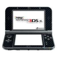 harga Skin Protector Garskin  New Nintendo 3ds Xl 3m Black Carbon (inside) Tokopedia.com