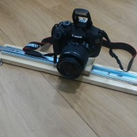 SLIDER CAMERA / DOLLY 50CM WITH BALL HEAD 360 1/4' DSLR GOPRO XIAOMI
