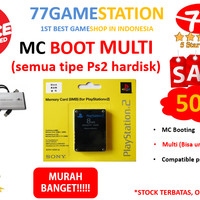 JUAL Memory Card boot mmc PS2 Boot MC BOOT MULTI Untuk Ps2 Hardisk A