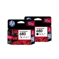 Tinta HP 680 Black and Colour Original Ink Cartridge-For 2135,3635