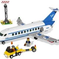 (Dijamin) Lego City 3181 Passenger Plane