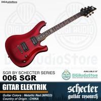 Guitar electric 006 SGR by Schecter Gitar Listrik Elektrik RED - MRED