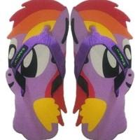 Jual Sandal Anak Lucu Kuda Little Pony Ungu SANCU Size 34 36 Murah