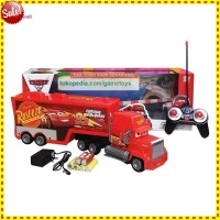 RC TRUCK CONTAINER THE CARS MACK TRUK MCQUEEN RC MOBIL MCQUEEN