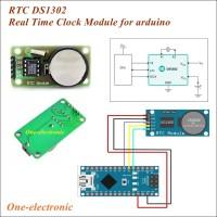 RTC DS1302 Real Time Clock Module DS 1302 Modul Arduino,Raspberry pi