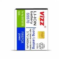 harga Baterai Vizz S5570 2400mah / Samsung S5750/s8280/andromax E860 Tokopedia.com