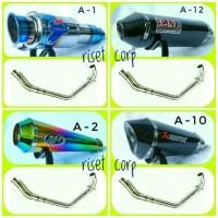 harga Knalpot Racing Gsx Ninja Cbr Cb Vixion Byson Satria Fu R15 Akra Bulat Tokopedia.com