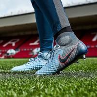 Sepatu Bola Nike Magista Obra II FG Light Armory Blue