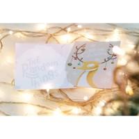Merry Christmas Deer! - Christmas Card, Kartu Natal, Kartu Ucapan