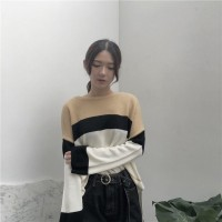 Baju Kaos Big Size Wanita Import Khaki Mixture 186942