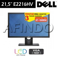 "Led Monitor Dell 22"" E2216h"