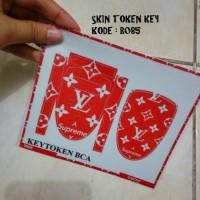Garskin Token Key BCA MANDIRI BNI kode R085