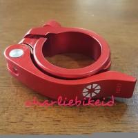 Seatpost Clamp Seatclamp DAHON TERN 41mm RED Quick Release