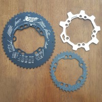 Chainring Oval DOVAL 3G Pro 52 36 Medium Ovality