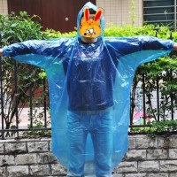Jas Hujan Travel Portable Raincoat Filament Thick Section