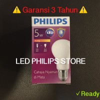 harga Lampu Bohlam Led Philips 5 Watt Warm White/kuning (5w 5 W 5watt) Tokopedia.com
