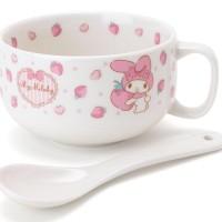 Sanrio Japan My Melody soup mug with spoon
