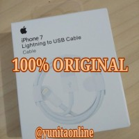Jual 100% ORIGINAL Kabel Data Charger Iphone 6s 6 5s 5 5c 5G Ipod Ipad Data Murah