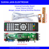 Paket Standard - LCD/LED TV Universal Controller Board HDV