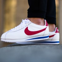 [ORIGINAL] NIKE CORTEZ FORREST GUMP WHITE / BLUE / RED