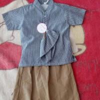 Baju koko anak + celana model sarung + peci