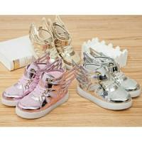 Jual Led Wings Shoes Sneakers / Sepatu Led Anak Lampu Sayap Murah