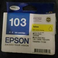EPSON 103 YELLOW INK CARTRIDGE