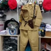 setelan kostum bung tomo anak ukuran 7 8 untuk usia 7-8 tahun
