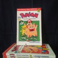 Buku Komik Pokemon 1,2,,7,11 , per seri