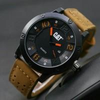 NEW! Jam tangan Pria cowok Cat jtr 1060 cream