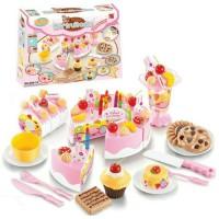 mainan anak perempuan /kue ulang tahun potong /kue ultah tiup