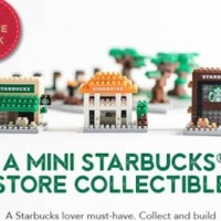 starbucks nanoblock (limited edition collectible )