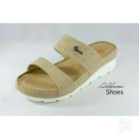 Sandal Wedges wanita casual formal sol ringan merk DONATELLO WB 615103