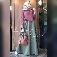 harga Busana Muslim Baju Muslim Baju Dress Longdress Gamis Tunik Muslim Tokopedia.com