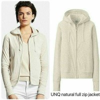 jaket murah branded uniqlo zipper hodie stocklot