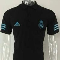 Jual Polo Shirt Real Madrid Away Hitam17/18 Grade Ori Murah