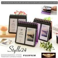 Album Kalender 68 Sheets Fujifilm Instax Mini 8/9/90/Share SP-2 etc