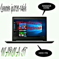 MURAH LAPTOP Windows 10 original LENOVO 320-14ISK-INTEL CORE i3 6006U