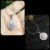 Jual Kalung perhiasan xuping zircon terbaru Murah