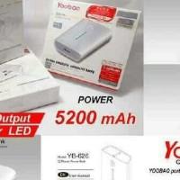 Power Bank Yoobao Yb-626 5200MAH