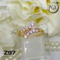 harga Z97 Cincin Xuping Yaxiya - Perhiasan Lapis Emas 18k Tokopedia.com